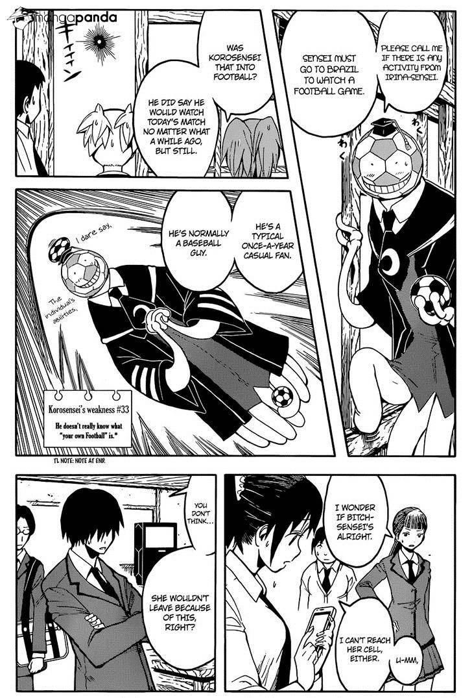 Ansatsu Kyoushitsu Chapter 100  Online Free Manga Read Image 9