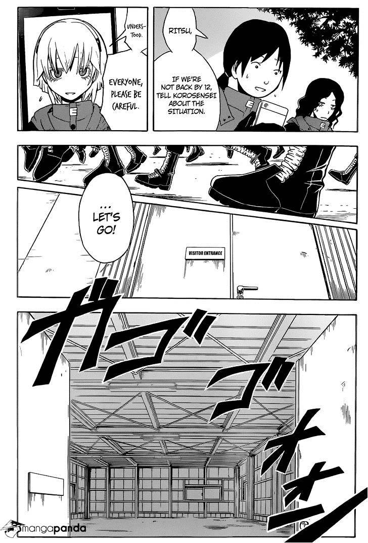 Ansatsu Kyoushitsu Chapter 101  Online Free Manga Read Image 12