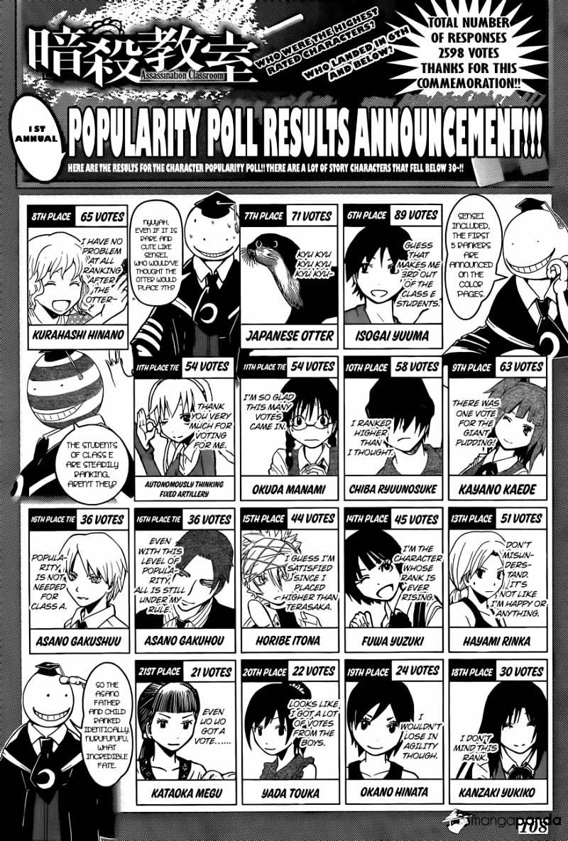 Ansatsu Kyoushitsu Chapter 107  Online Free Manga Read Image 22
