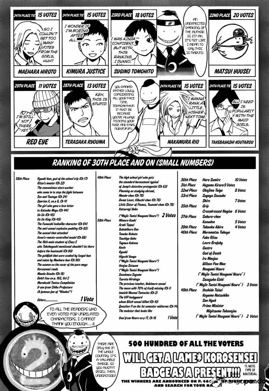 Ansatsu Kyoushitsu Chapter 107  Online Free Manga Read Image 23