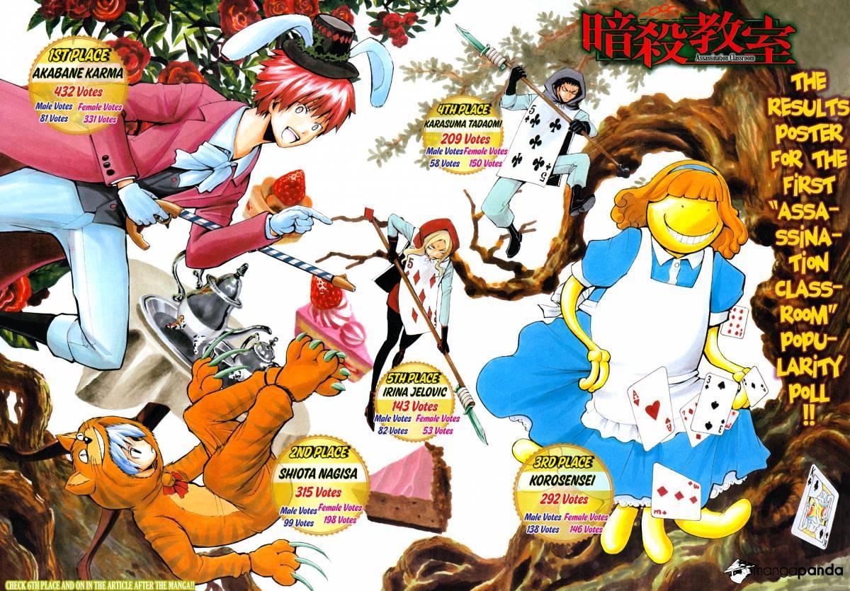 Ansatsu Kyoushitsu Chapter 107  Online Free Manga Read Image 4