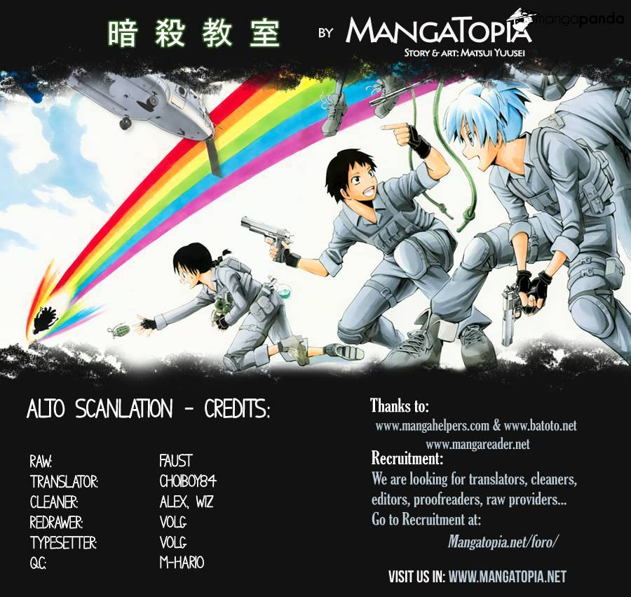 Ansatsu Kyoushitsu Chapter 108  Online Free Manga Read Image 1