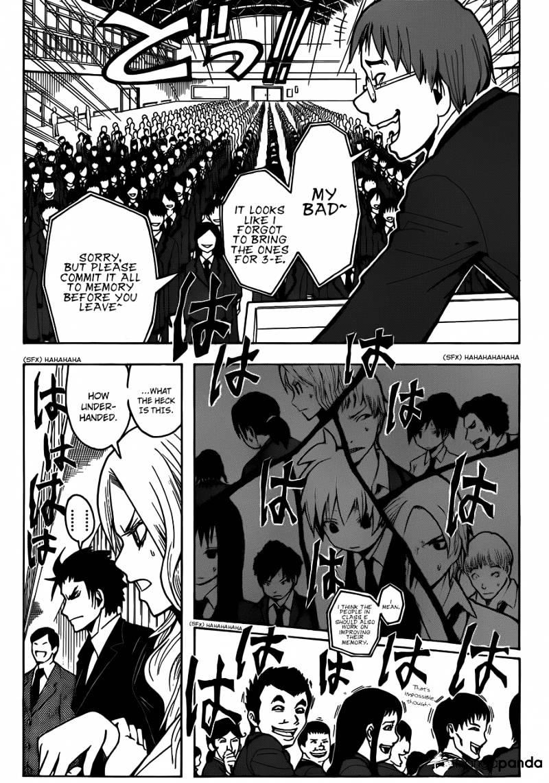 Ansatsu Kyoushitsu Chapter 11  Online Free Manga Read Image 12