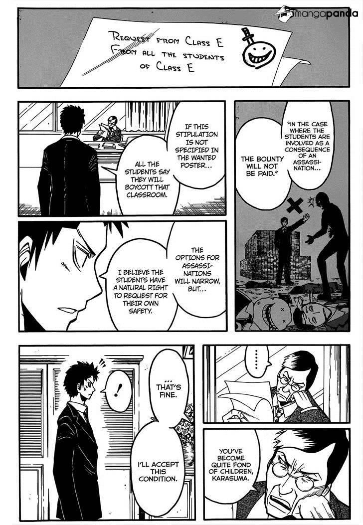 Ansatsu Kyoushitsu Chapter 110  Online Free Manga Read Image 12