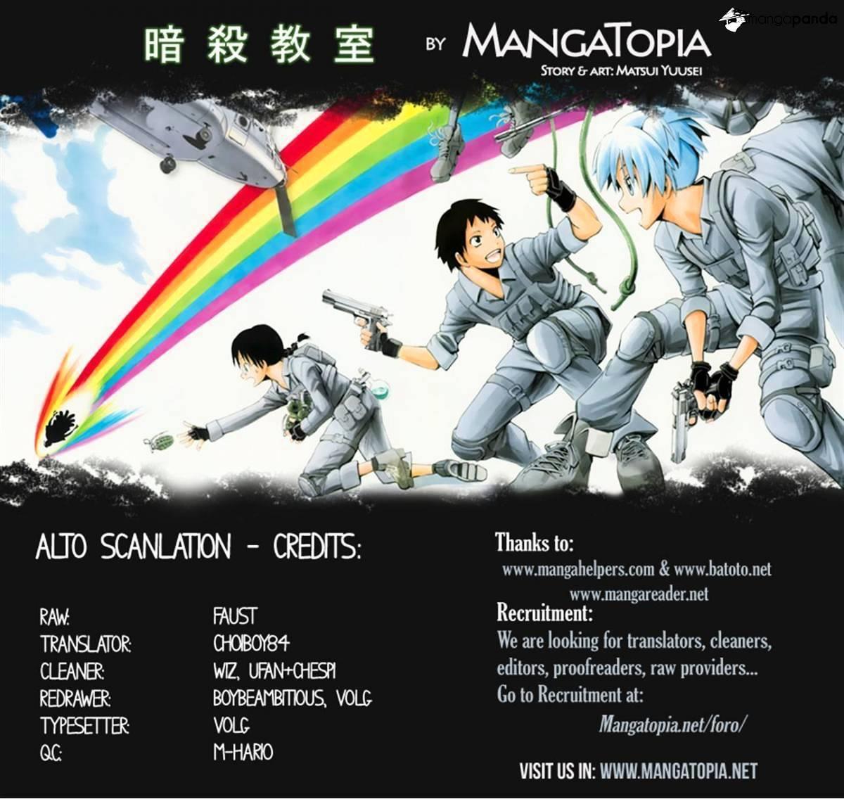 Ansatsu Kyoushitsu Chapter 110  Online Free Manga Read Image 20