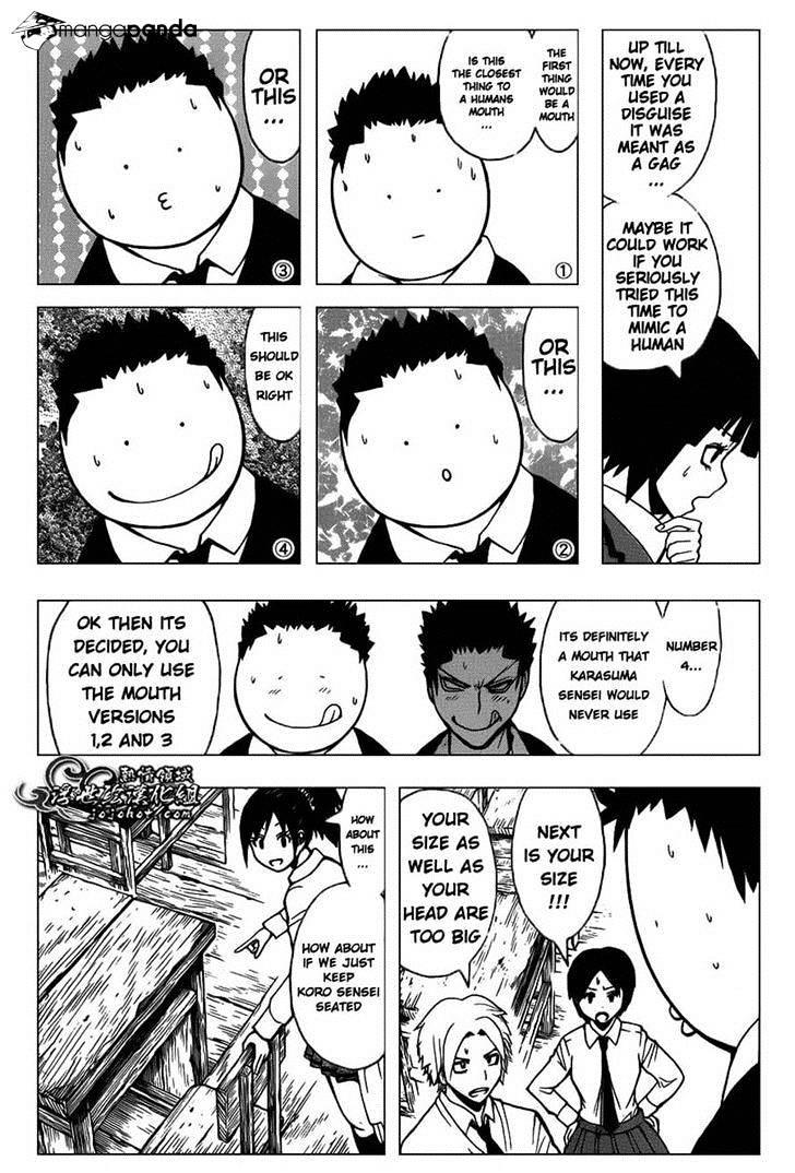 Ansatsu Kyoushitsu Chapter 113  Online Free Manga Read Image 6