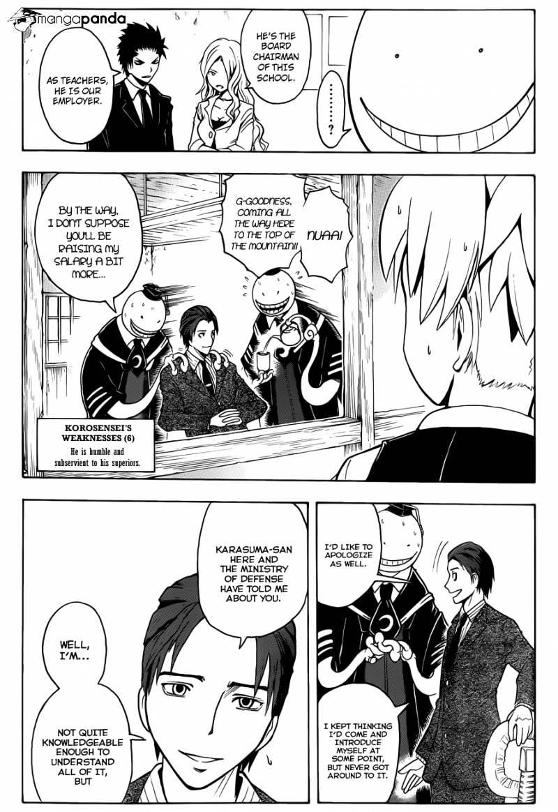 Ansatsu Kyoushitsu Chapter 12  Online Free Manga Read Image 10