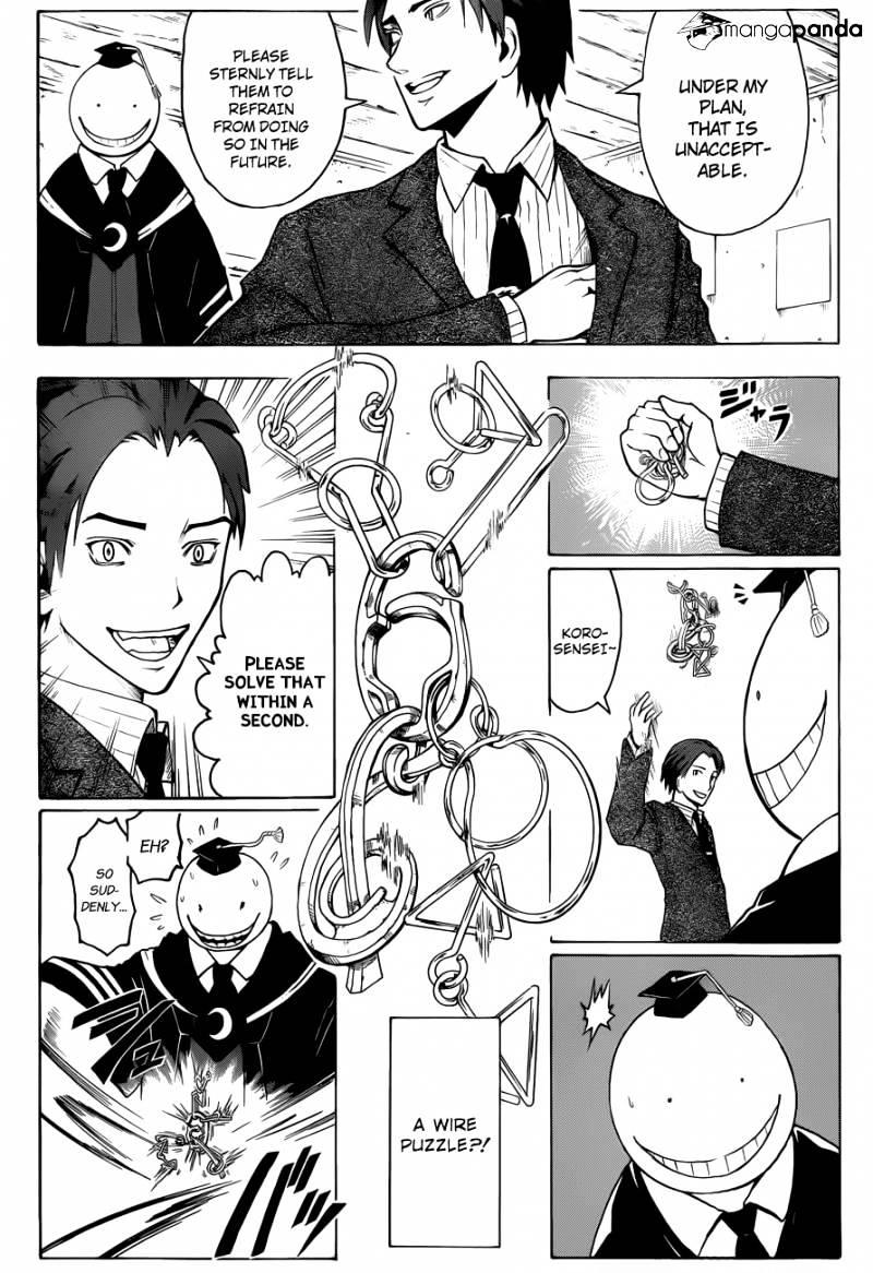 Ansatsu Kyoushitsu Chapter 12  Online Free Manga Read Image 16
