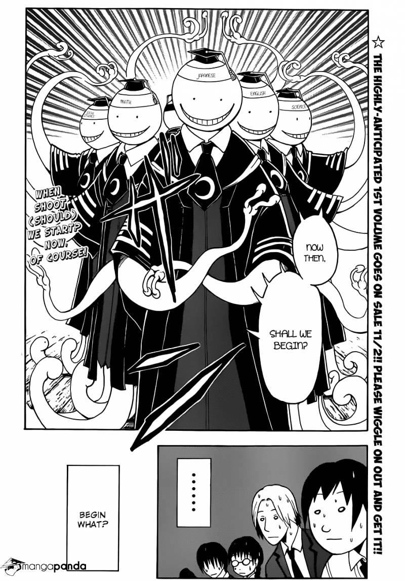 Ansatsu Kyoushitsu Chapter 12  Online Free Manga Read Image 3