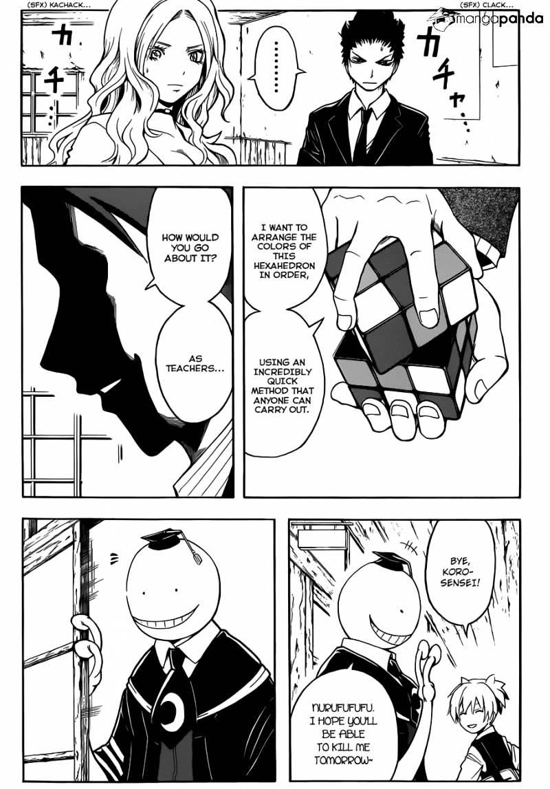 Ansatsu Kyoushitsu Chapter 12  Online Free Manga Read Image 8