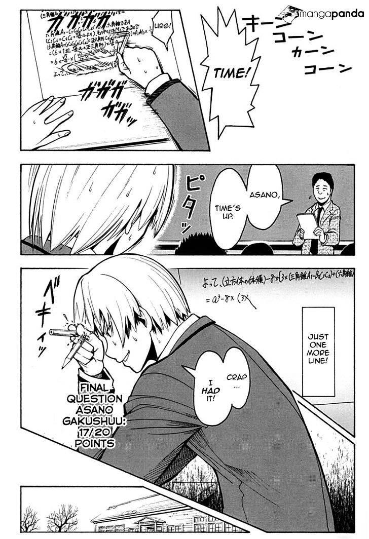 Ansatsu Kyoushitsu Chapter 122  Online Free Manga Read Image 19