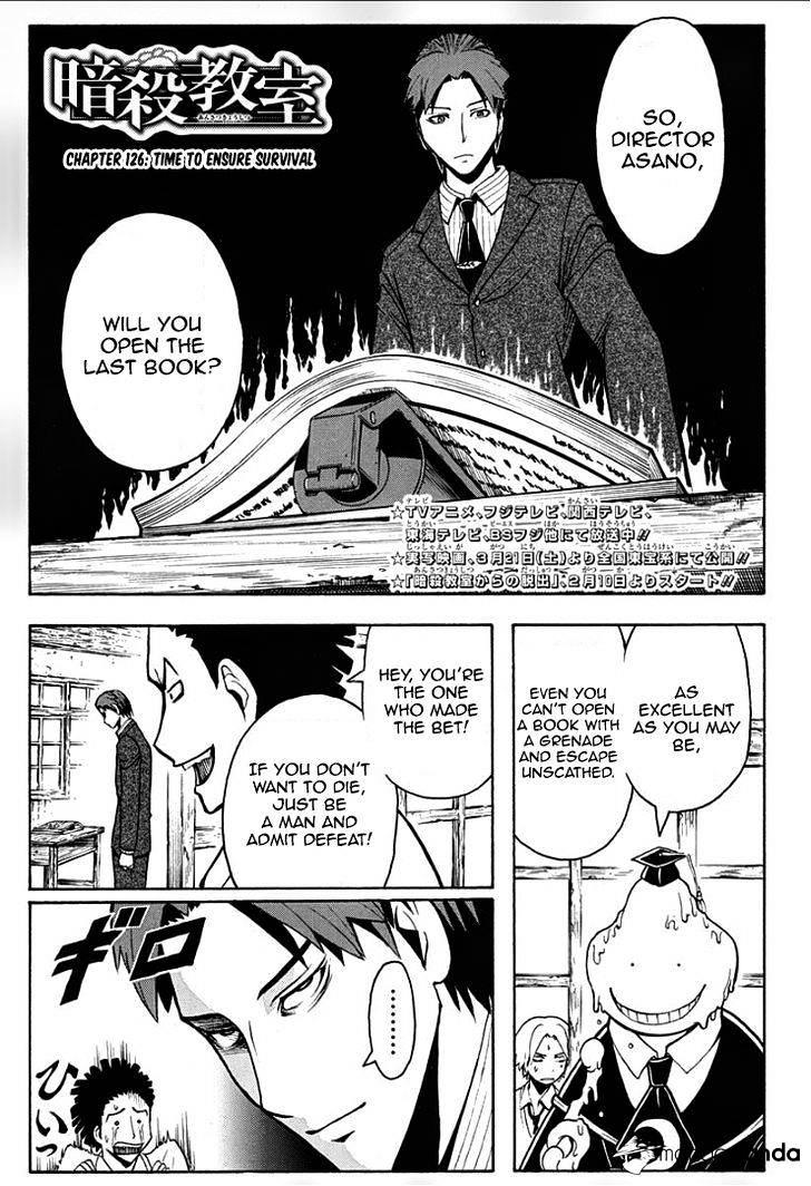 Ansatsu Kyoushitsu Chapter 126  Online Free Manga Read Image 2