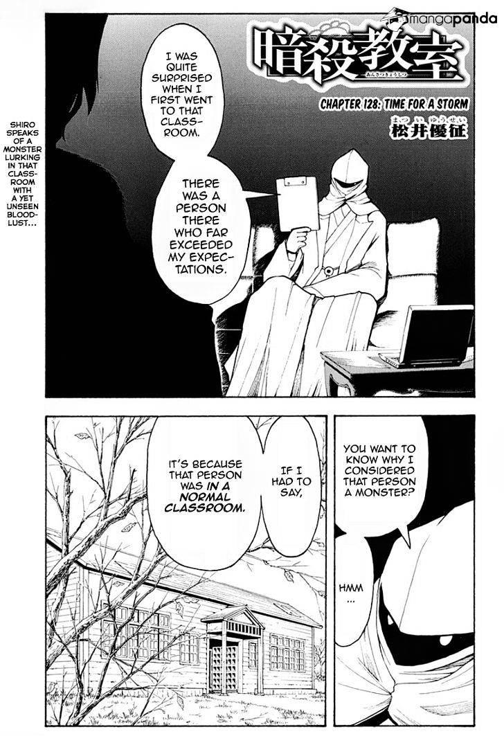 Ansatsu Kyoushitsu Chapter 128  Online Free Manga Read Image 2