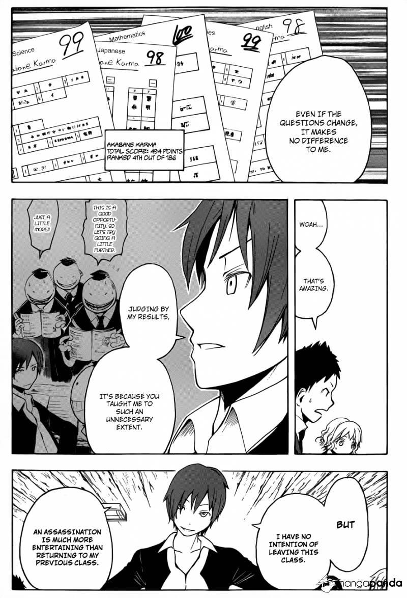 Ansatsu Kyoushitsu Chapter 14  Online Free Manga Read Image 18