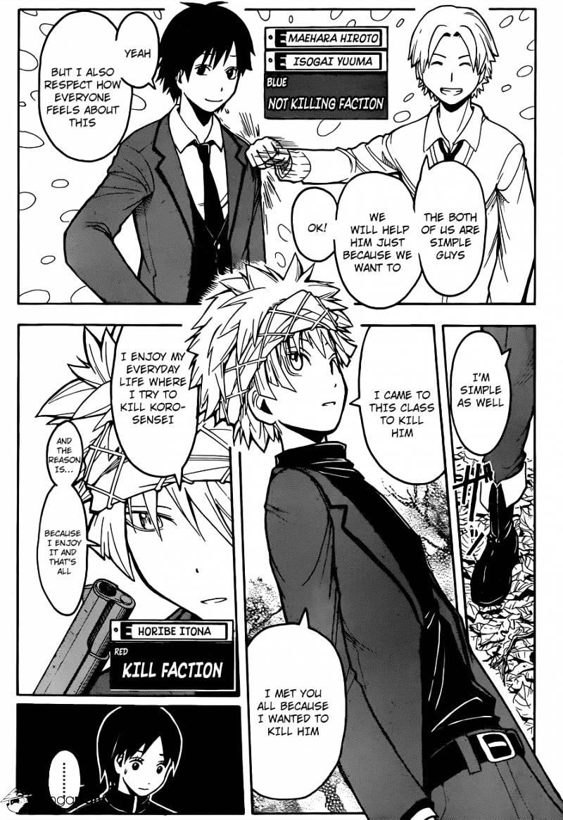 Ansatsu Kyoushitsu Chapter 144  Online Free Manga Read Image 5