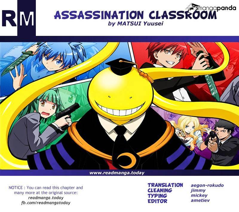 Ansatsu Kyoushitsu Chapter 145  Online Free Manga Read Image 22