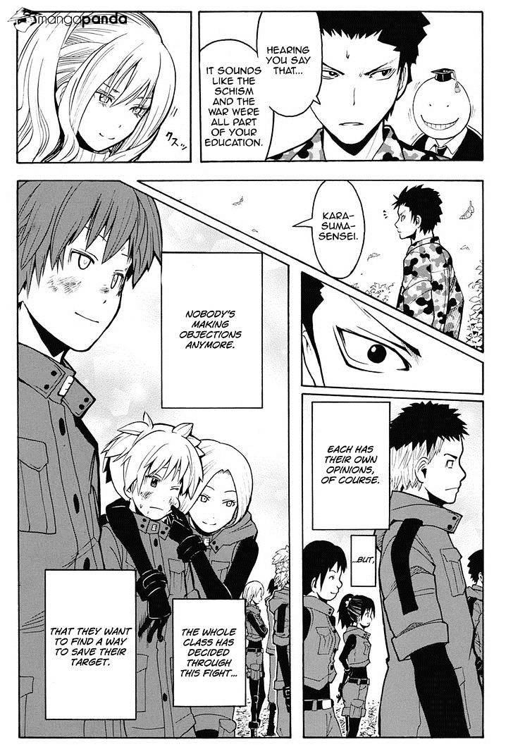 Ansatsu Kyoushitsu Chapter 149  Online Free Manga Read Image 17