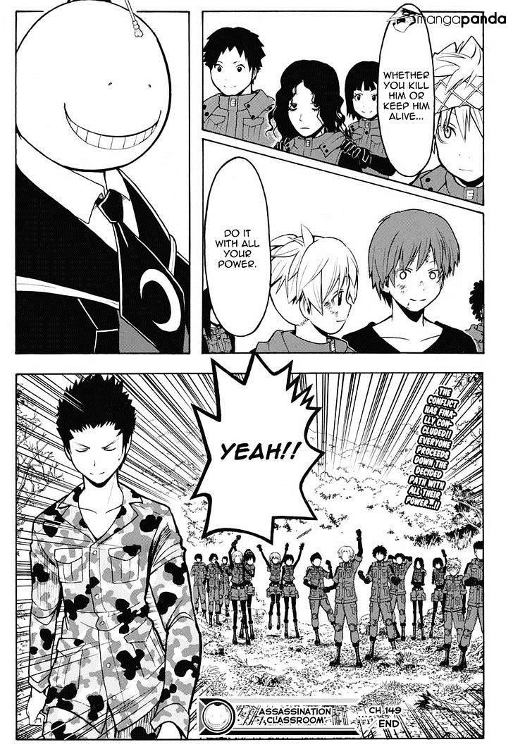 Ansatsu Kyoushitsu Chapter 149  Online Free Manga Read Image 19