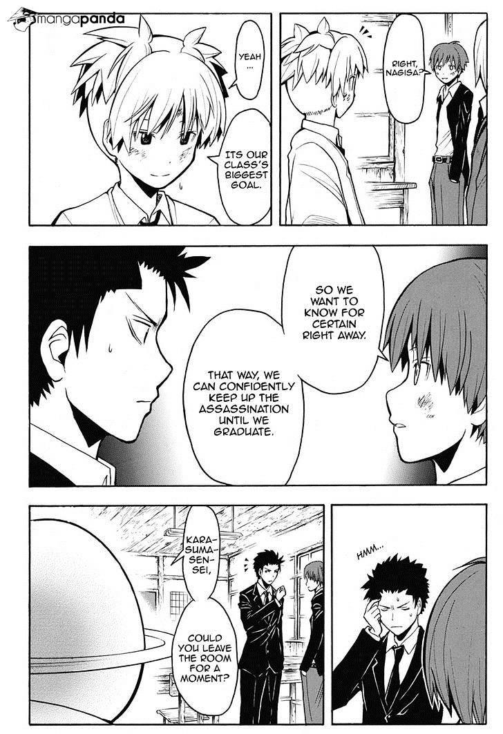 Ansatsu Kyoushitsu Chapter 150  Online Free Manga Read Image 11