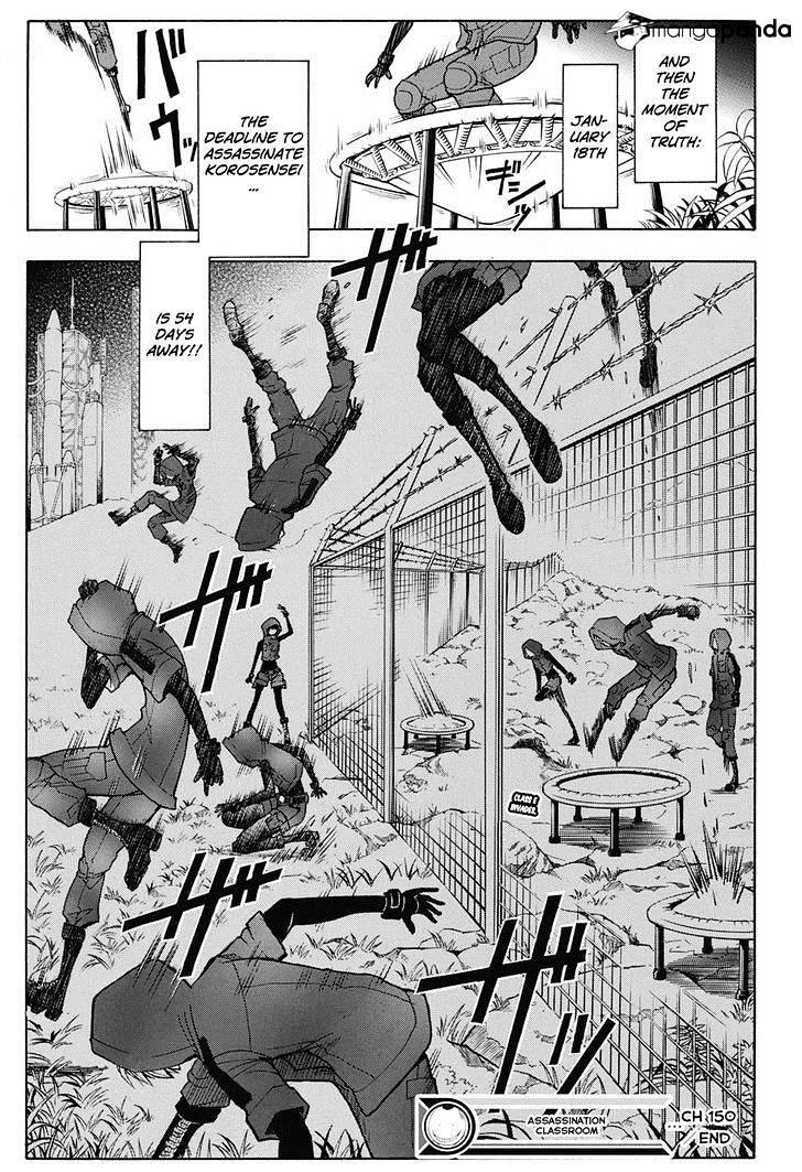 Ansatsu Kyoushitsu Chapter 150  Online Free Manga Read Image 20