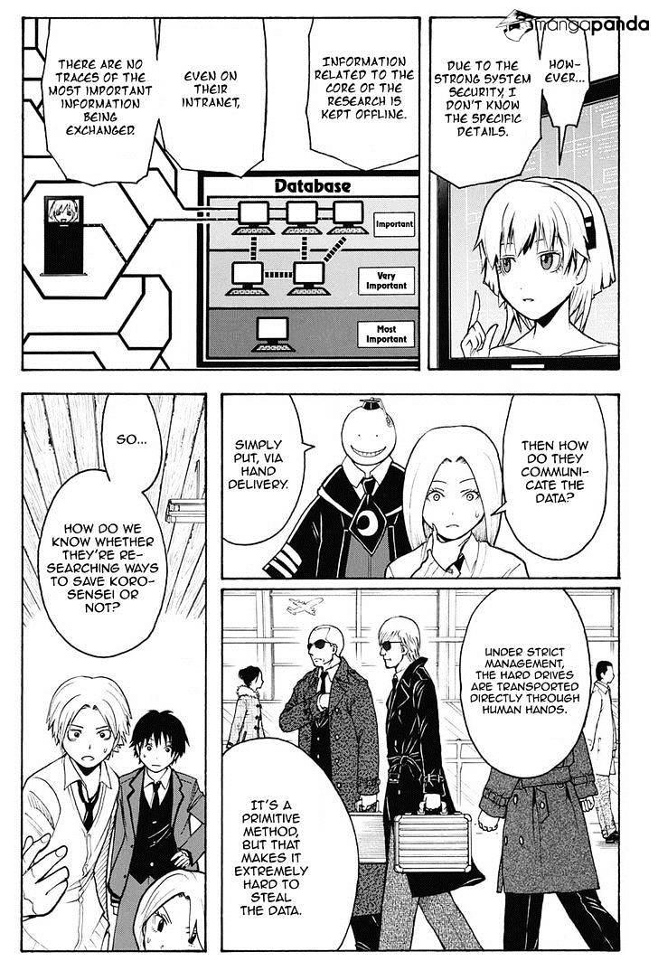 Ansatsu Kyoushitsu Chapter 150  Online Free Manga Read Image 6