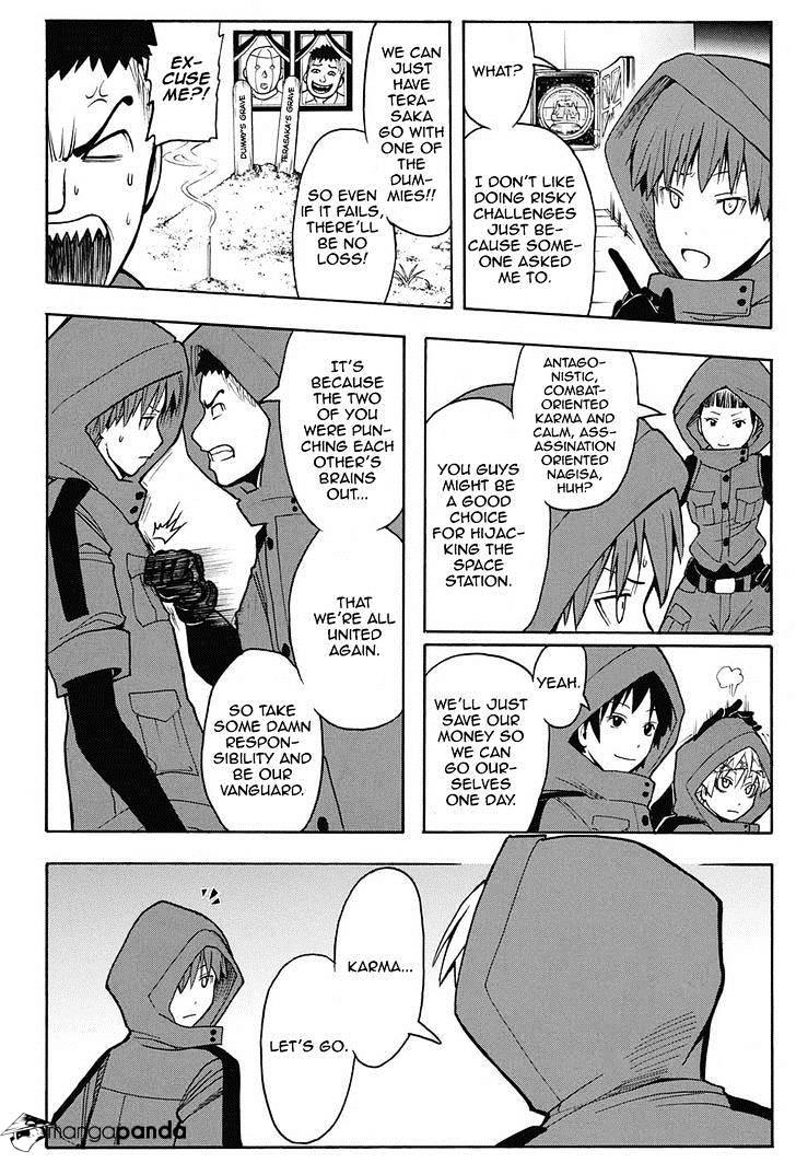 Ansatsu Kyoushitsu Chapter 151  Online Free Manga Read Image 12