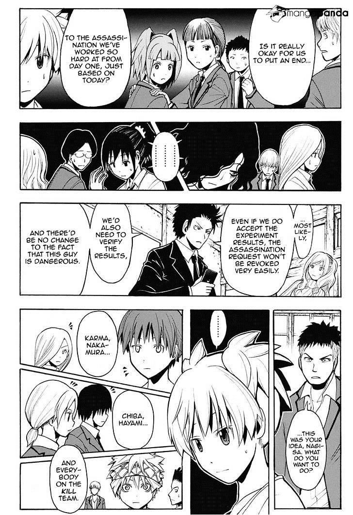 Ansatsu Kyoushitsu Chapter 153  Online Free Manga Read Image 17