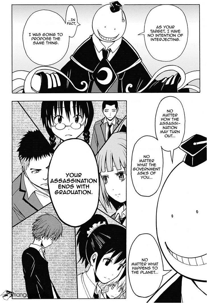 Ansatsu Kyoushitsu Chapter 154  Online Free Manga Read Image 16