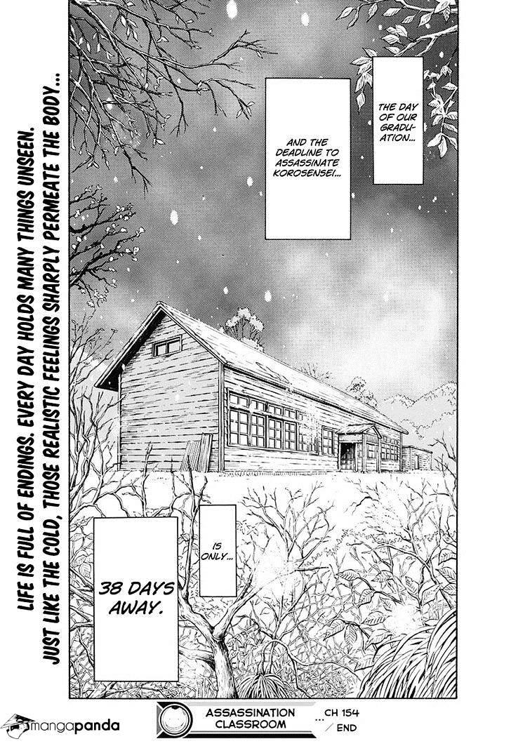 Ansatsu Kyoushitsu Chapter 154  Online Free Manga Read Image 19