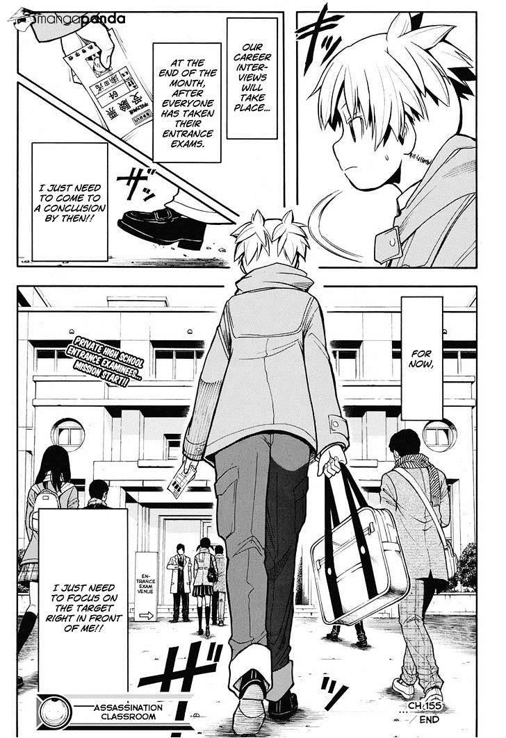 Ansatsu Kyoushitsu Chapter 155  Online Free Manga Read Image 19