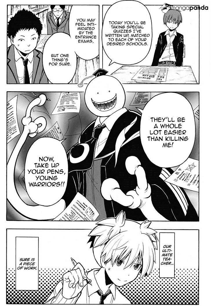 Ansatsu Kyoushitsu Chapter 155  Online Free Manga Read Image 6