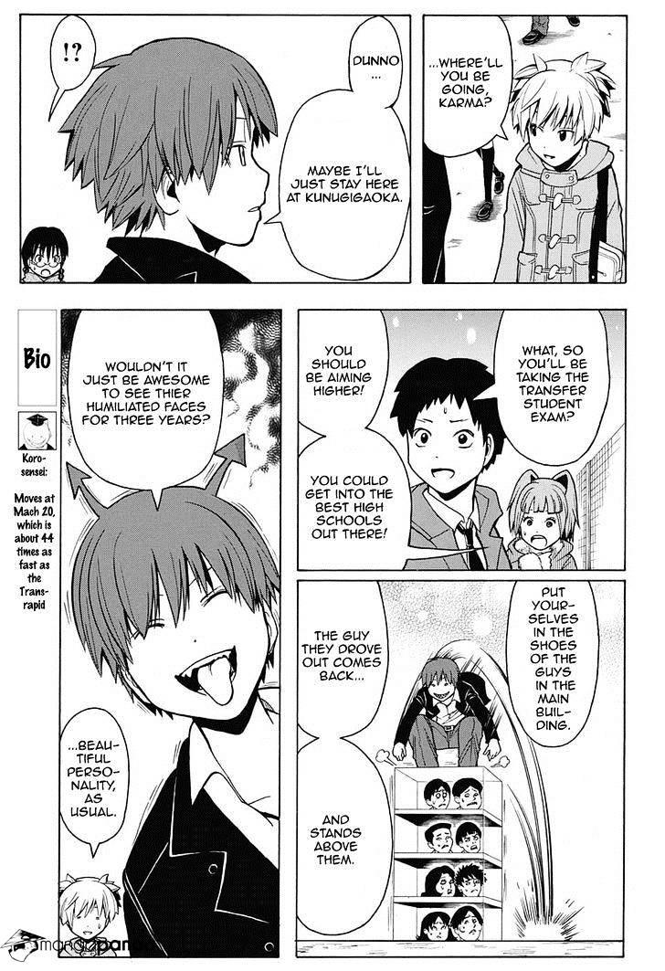 Ansatsu Kyoushitsu Chapter 155  Online Free Manga Read Image 8
