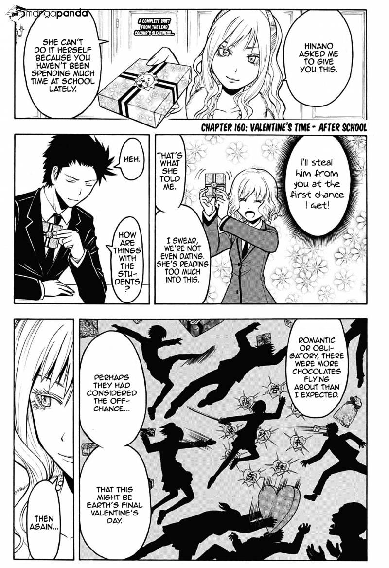 Ansatsu Kyoushitsu Chapter 160  Online Free Manga Read Image 5