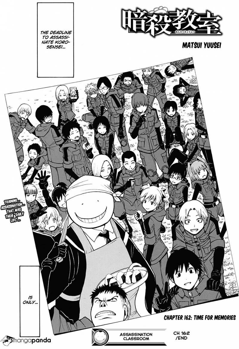 Ansatsu Kyoushitsu Chapter 162  Online Free Manga Read Image 20