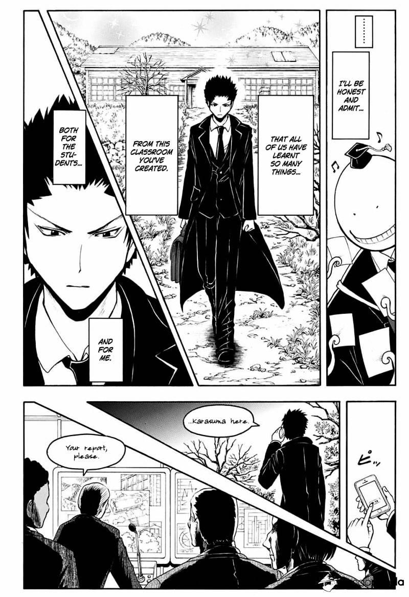 Ansatsu Kyoushitsu Chapter 163  Online Free Manga Read Image 15