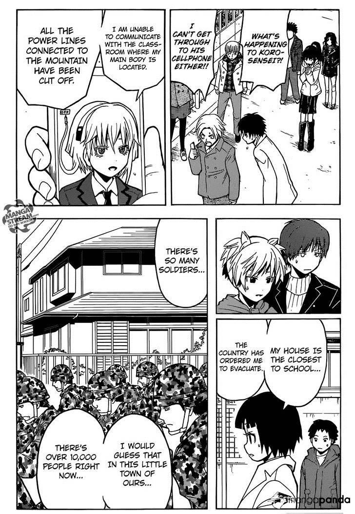 Ansatsu Kyoushitsu Chapter 164  Online Free Manga Read Image 13