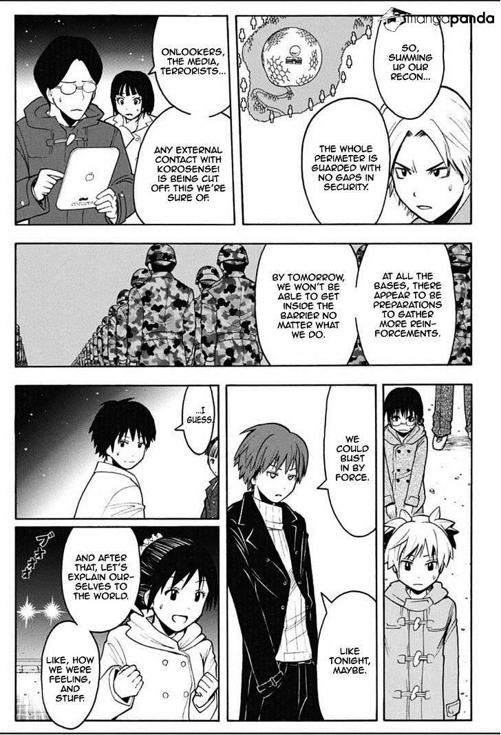 Ansatsu Kyoushitsu Chapter 165  Online Free Manga Read Image 12