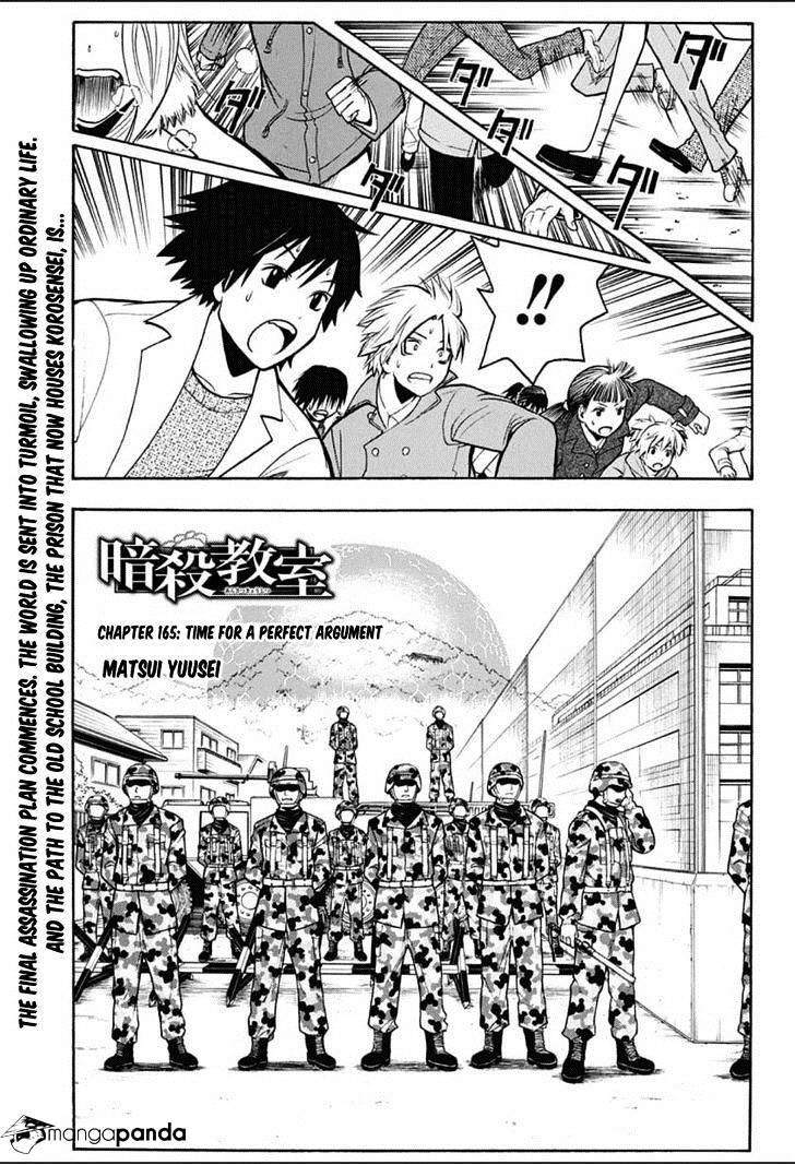 Ansatsu Kyoushitsu Chapter 165  Online Free Manga Read Image 2