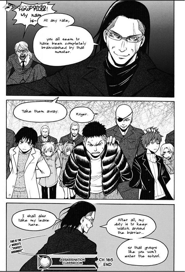 Ansatsu Kyoushitsu Chapter 165  Online Free Manga Read Image 20