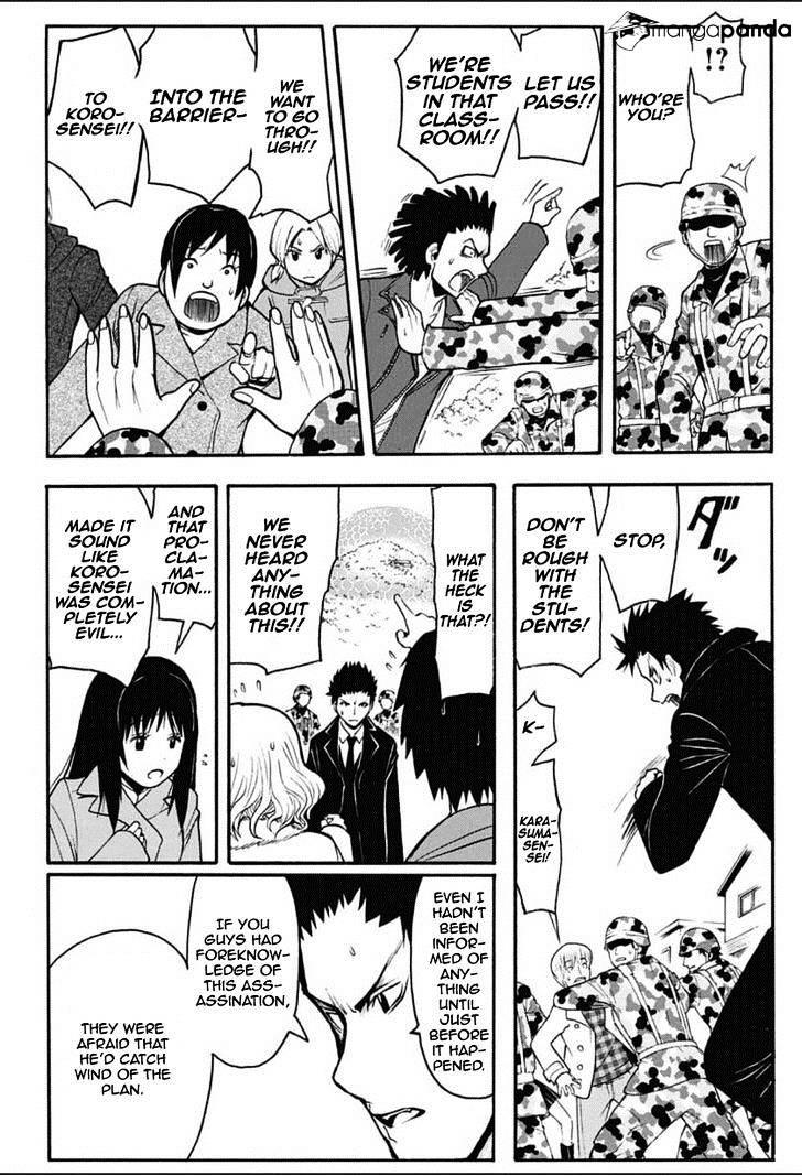 Ansatsu Kyoushitsu Chapter 165  Online Free Manga Read Image 3