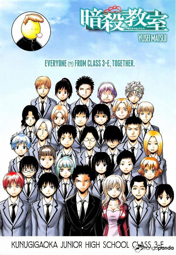 Ansatsu Kyoushitsu Chapter 166  Online Free Manga Read Image 1
