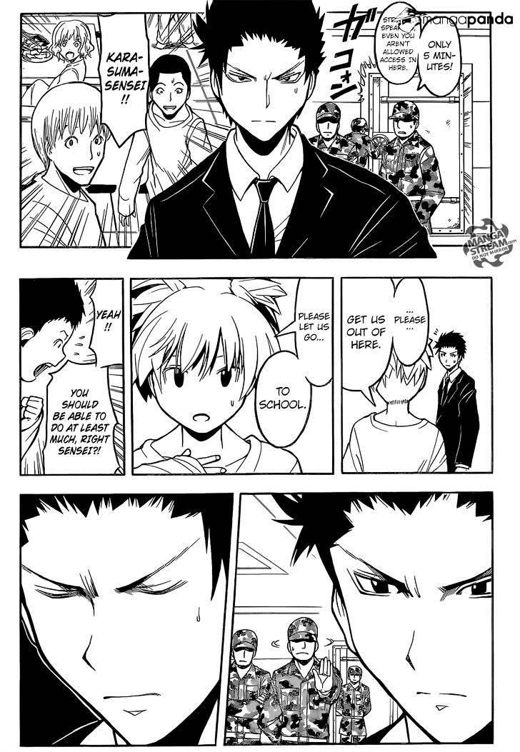 Ansatsu Kyoushitsu Chapter 166  Online Free Manga Read Image 11