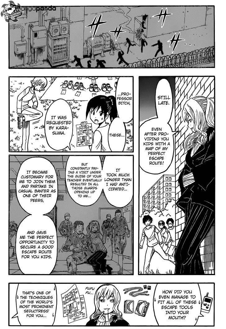 Ansatsu Kyoushitsu Chapter 167  Online Free Manga Read Image 12