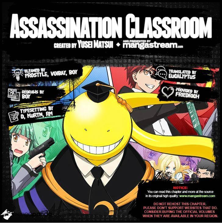 Ansatsu Kyoushitsu Chapter 167  Online Free Manga Read Image 2
