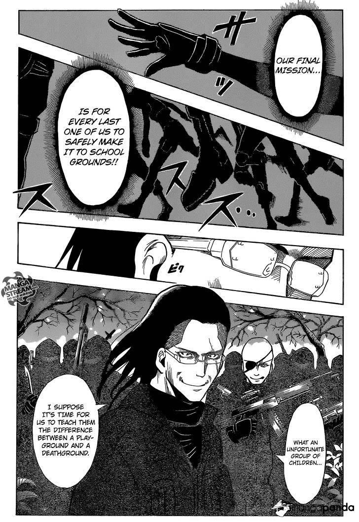 Ansatsu Kyoushitsu Chapter 167  Online Free Manga Read Image 20