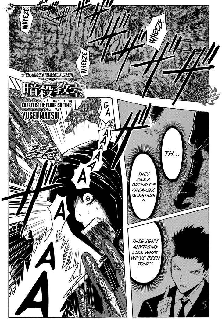 Ansatsu Kyoushitsu Chapter 168  Online Free Manga Read Image 1