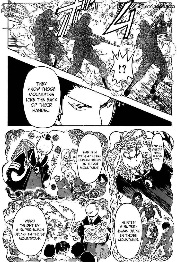 Ansatsu Kyoushitsu Chapter 168  Online Free Manga Read Image 11