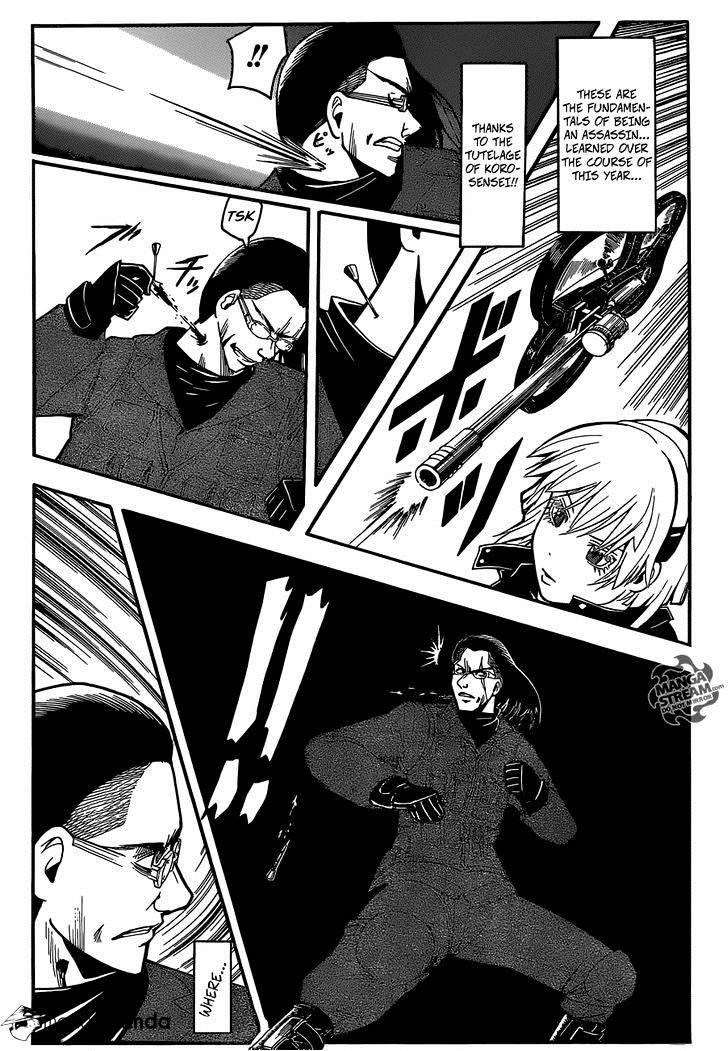 Ansatsu Kyoushitsu Chapter 169  Online Free Manga Read Image 11