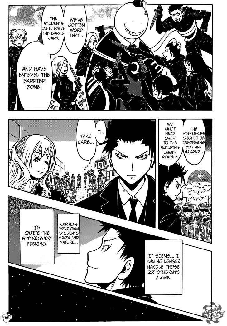 Ansatsu Kyoushitsu Chapter 169  Online Free Manga Read Image 20