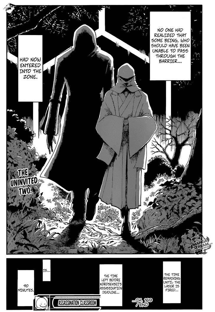 Ansatsu Kyoushitsu Chapter 169  Online Free Manga Read Image 22